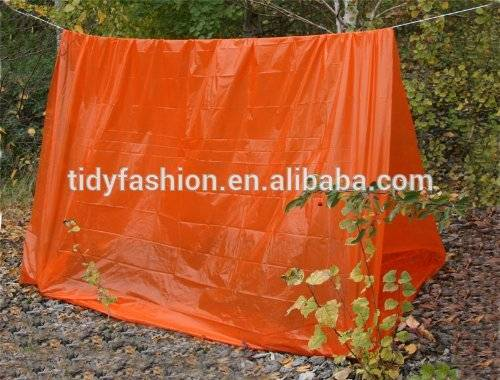Lightweight Emergency Portable PE Tube Tent
