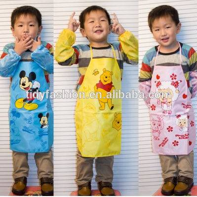 Cartoon Printing Cute Kids Garden Aprons