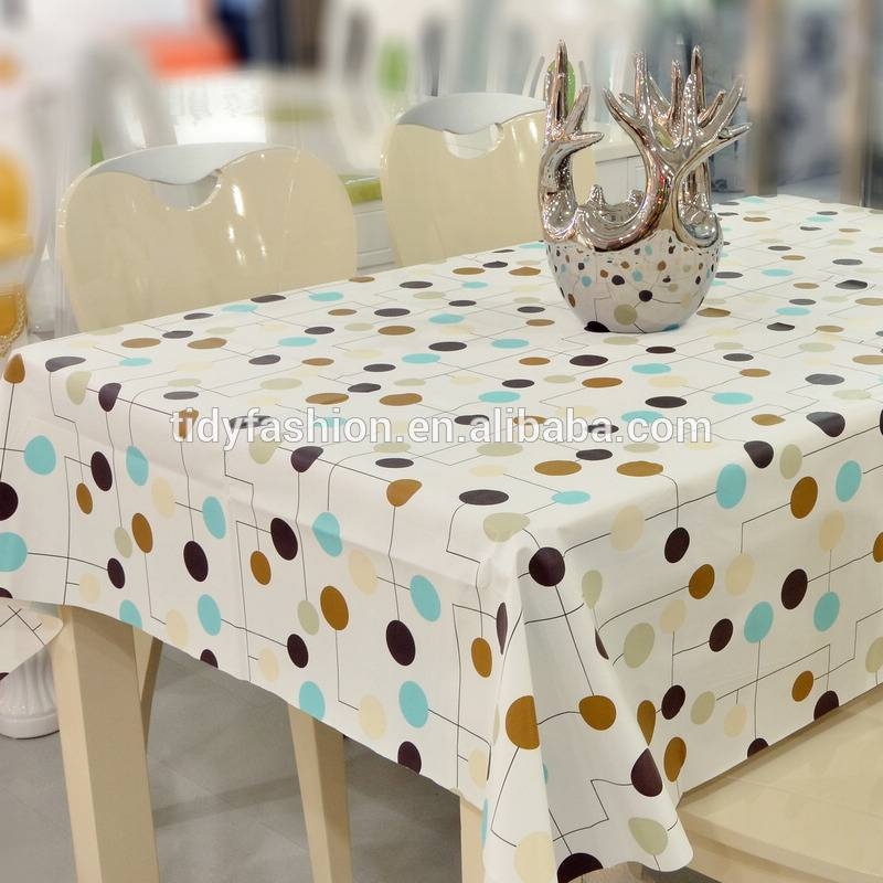 Plastic Vinyl Wholesale Tablecloth