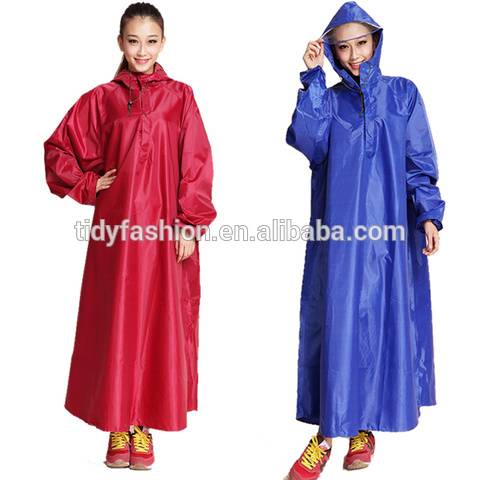 Waterproof Poncho Raincoat For Bike
