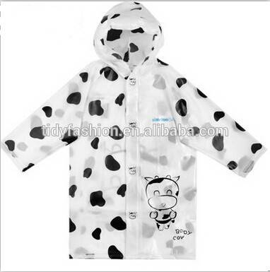 Printing Logo Children Raincoat Fashionable