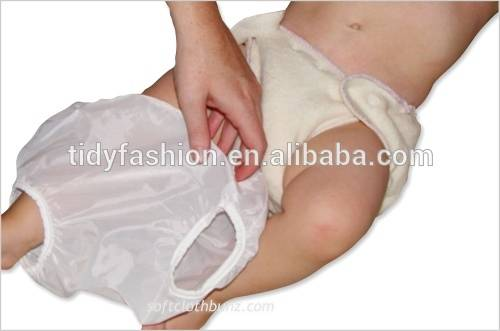 Clear Baby Diaper Plastic Pants