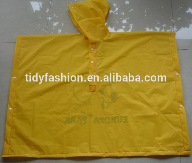 Eco-friendly Portable EVA Rain Poncho