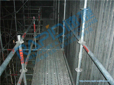 Rapid Scaffolding Used As Maitenance Work In Asia Symbol Factory
