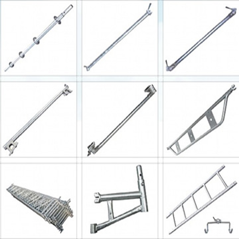 High Quality High Level Ringlcok Scaffolding Diagonal Brace with SGS,ANSI,CE