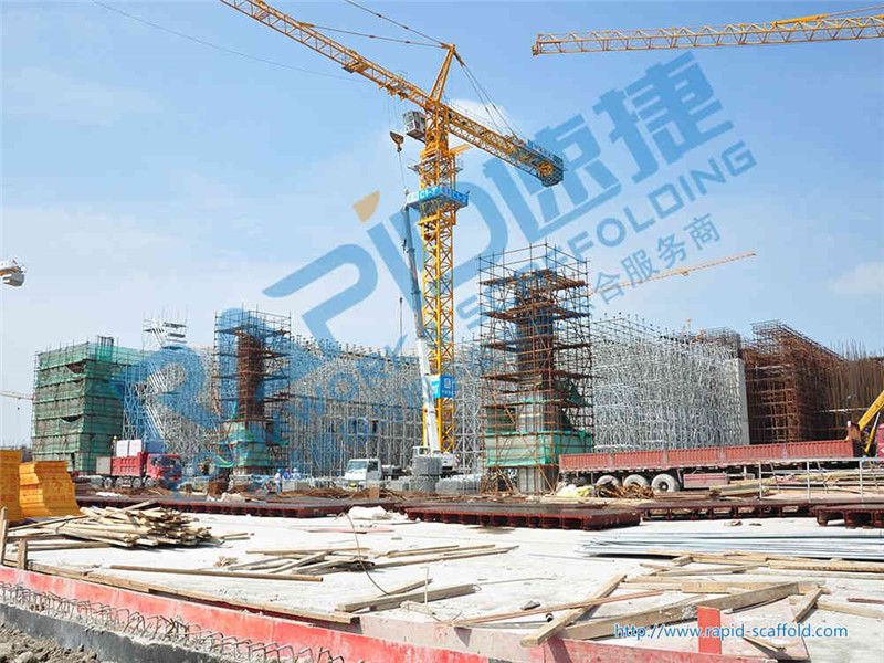 Shoring Scaffolding And Formwork For National Exhibition And Convention Center (Shanghai)