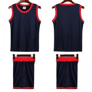 Basketball Uniform Kit Sublimation Best Customized Hot Sale College Cheap Reversible Kids Basketball Jersey