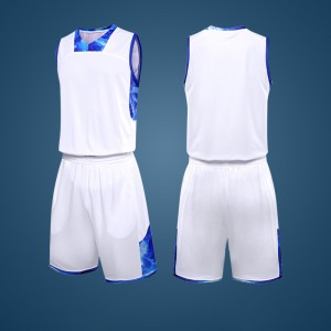 Sublimation custom design logo basketball uniform cheap plain basketball jerseys
