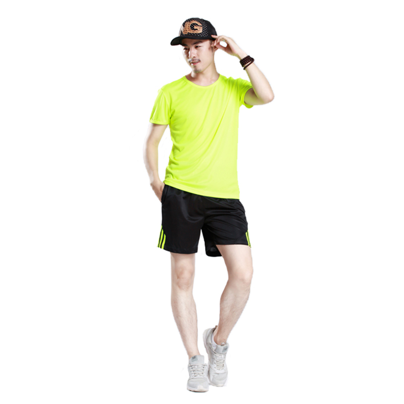 Wholesale custom Quick dry t shirt sports t-shirts for mens