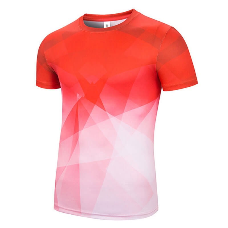 Wholesale quick dry polyester shirts for marathon advertising and election campaign customized sublimation t-shirt Featured Image