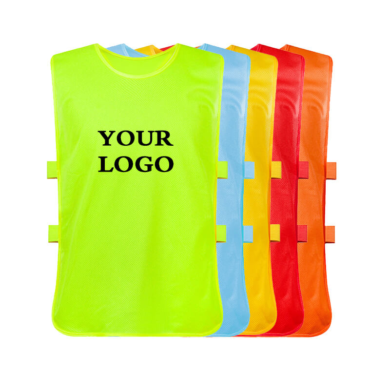 Wholesale cheap soccer pinnies sports vest team training adult soccer football basketball team training Vests Training Featured Image