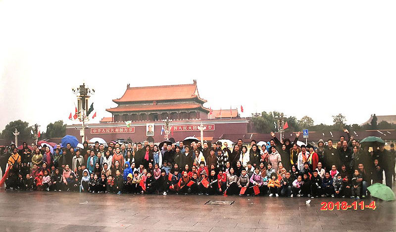 November, 2018, All Members Of RETOOL Travel To Beijing