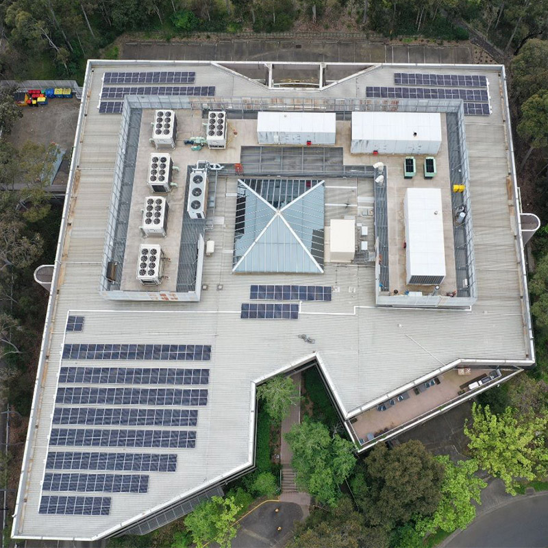 100kW Solar Energy System for IAG insurance company in Australia