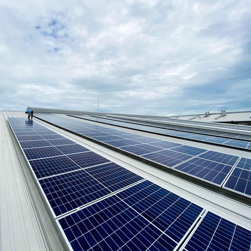 2.27 MW Solar PV Rooftop installations in Tay Ninh Province Vietnam