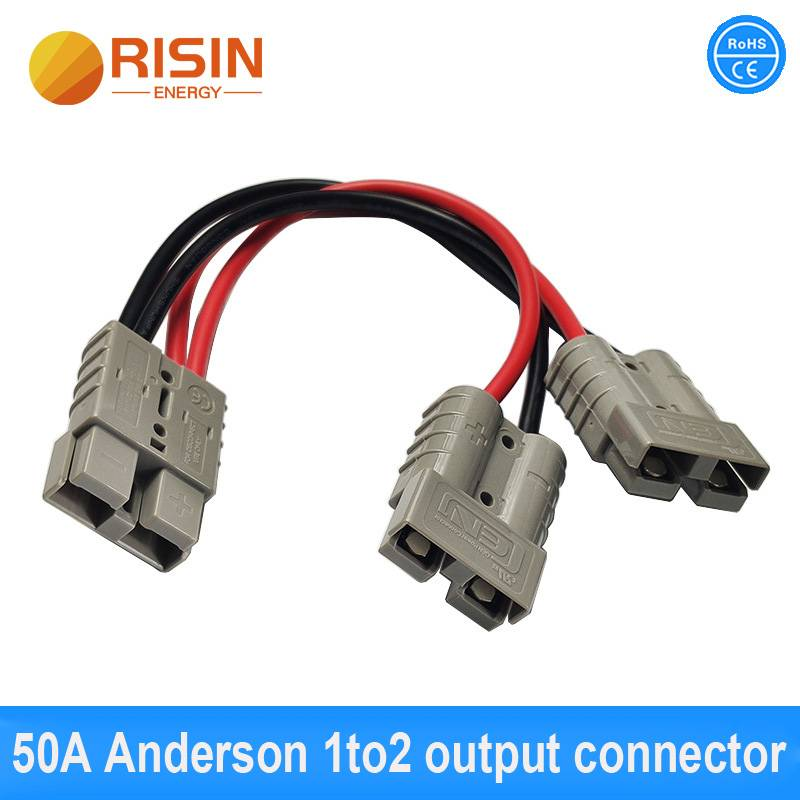 50A 600V Andersons Power Connector Adapter Cable