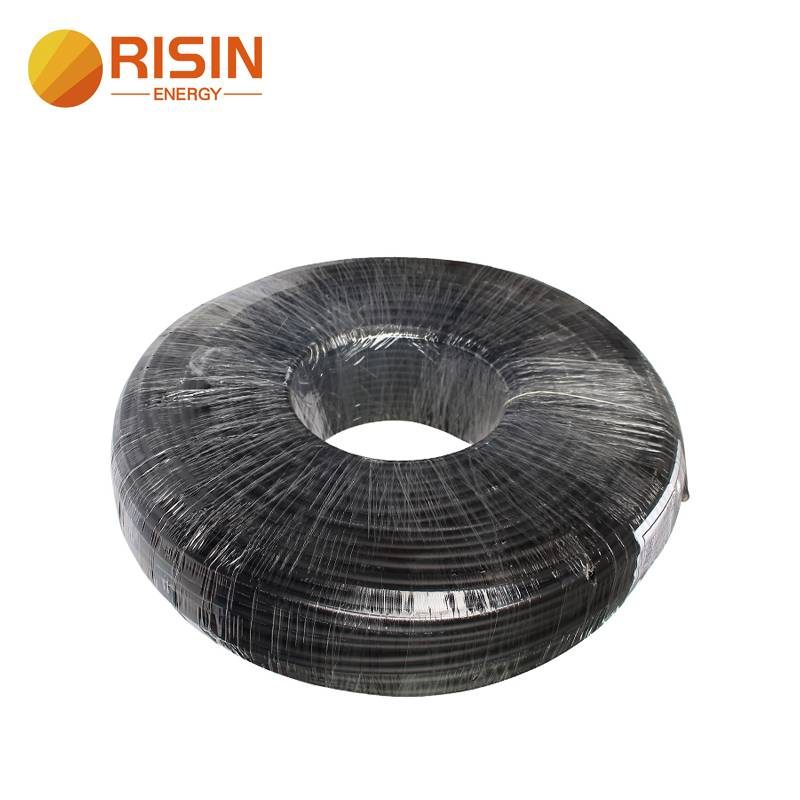 DC 1500V 2core Solar Cable 2x4mm 2x6mm