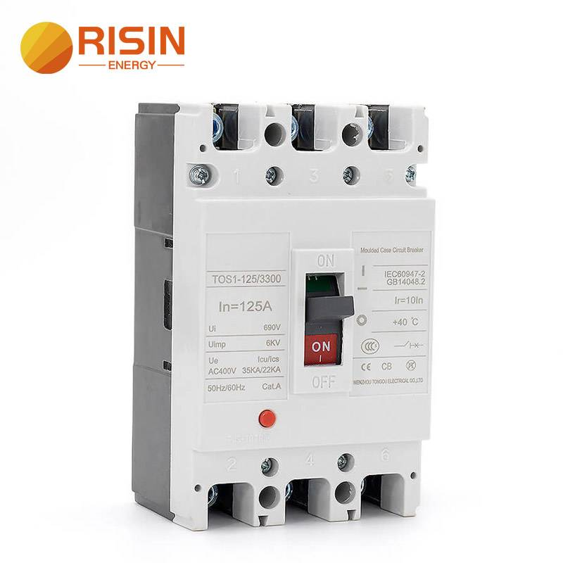 125A 160A 250A 3 Pole AC MCCB Moulded Case Circuit Breaker Featured Image