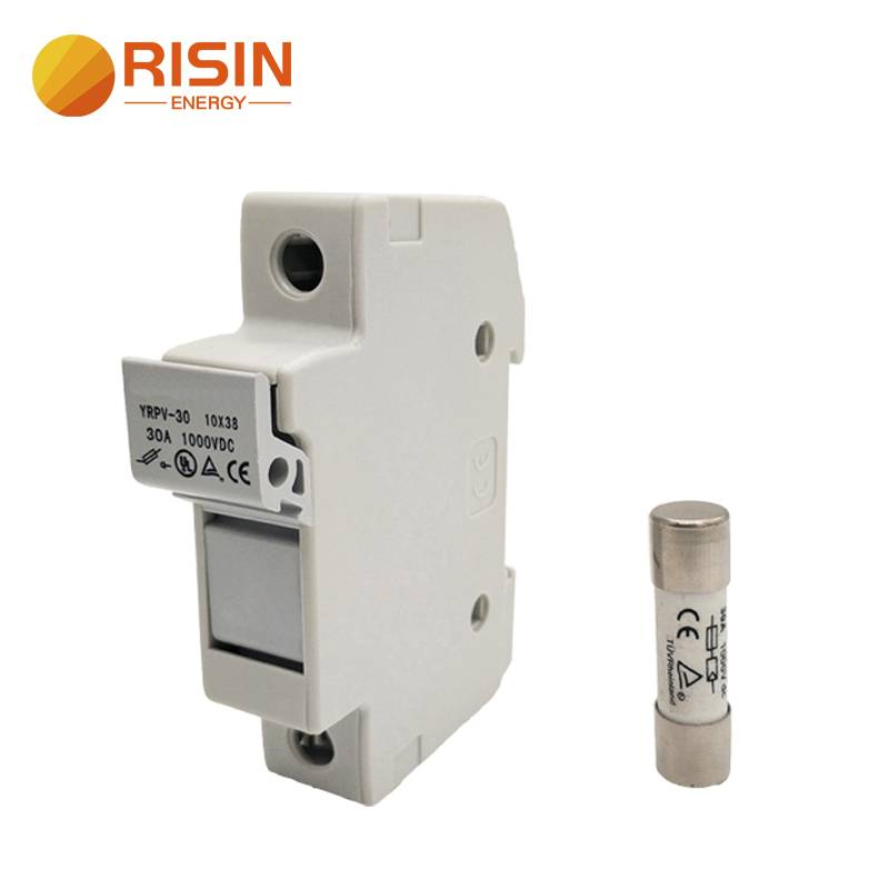 1000V DC Solar PV Fuse Holder 10x38mm for Solar PV Fuse with TUV UL and ROHS Featured Image