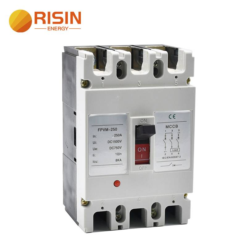 550V 750V 1000V 125A 160A 250A DC MCCB Moulded Case Circuit Breaker Featured Image