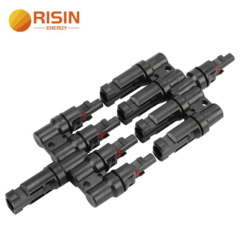Solar Panel Cable Splitter 1 to 4 T Branch Connectors