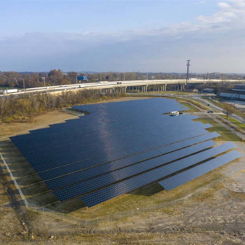 Solar project generates 2.5 megawatts of clean energy