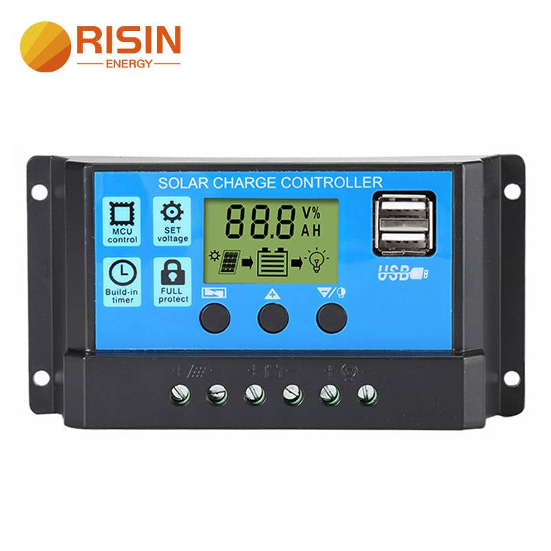 10A 20A 30A 12V 24V Intelligent PWM Solar Charge Controller Featured Image