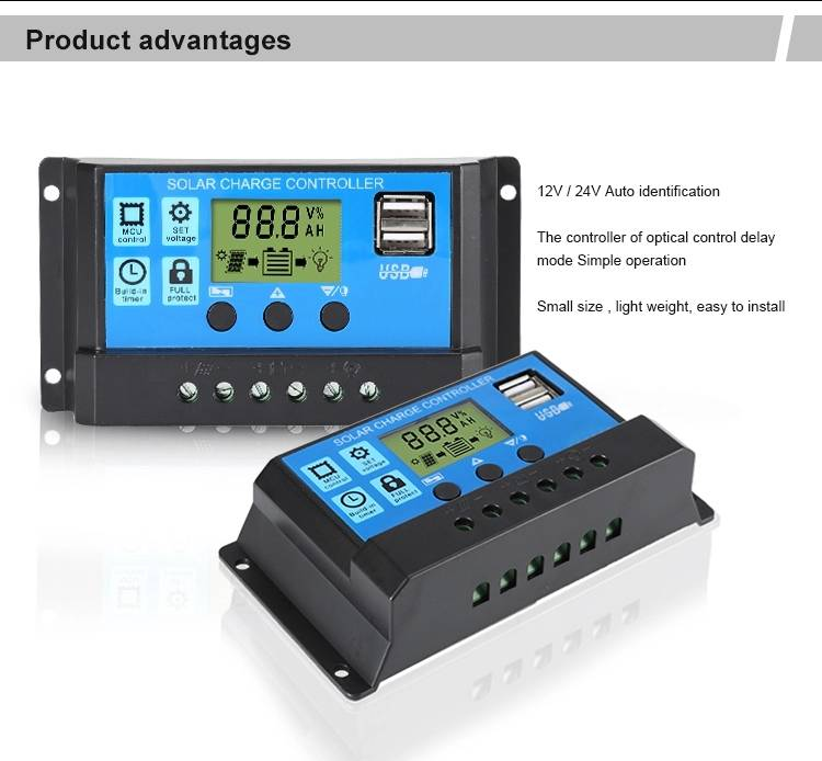 PWM solar charge controller 5
