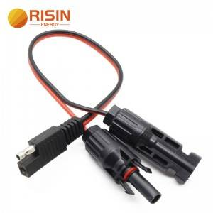 Auto Wire Car Extender Connector 2 Pin SAE Battery Cable