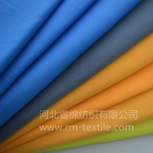 20% cotton 80% polyester dyed fabric