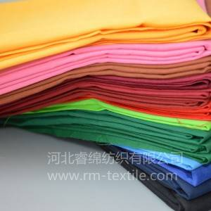 10% cotton 90% polyester pocketing  fabric