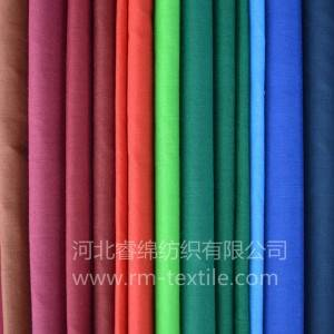 10% cotton 90% polyester dyed fabric