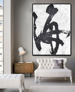 Modern Chinese Calligraphy Wall Picture Oil Pai...