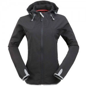 High Quality Custom woMens SoftshellJacket Outdoor