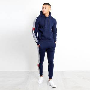 Mens Running Fitness Clothes Long Sleeve Gym Sports Suits Quick Dry