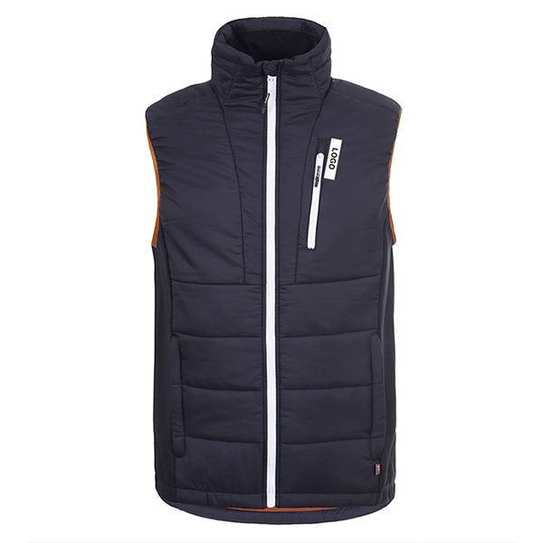 100% Polyamide waterproof softshell vest for men Featured Image