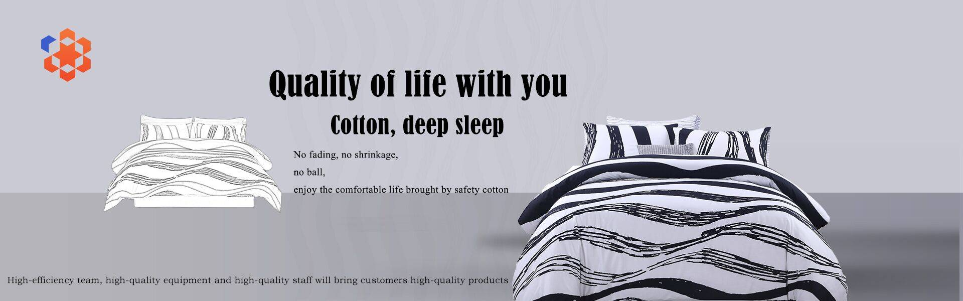 High-Quality Bed Sheet With 100% Cotton Content