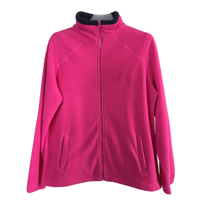 Warm womens Fleece jackets support bulk purchases