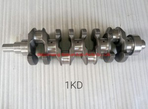 Auto Parts Crankshaft for Toyota 1kd for Car Gasoline Engine with OEM 13401-30050/131032001
