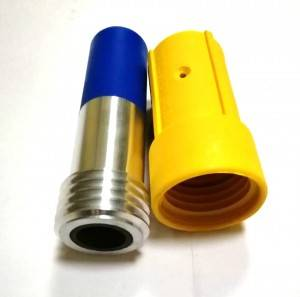 High quality Boron carbide sandblasting nozzle with PU Jacke