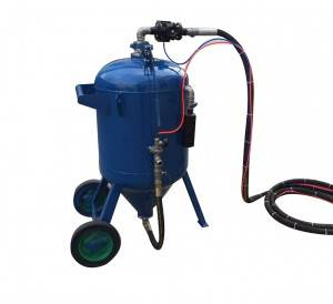 Water abrasive Heavy duty sand blasting machine 300L