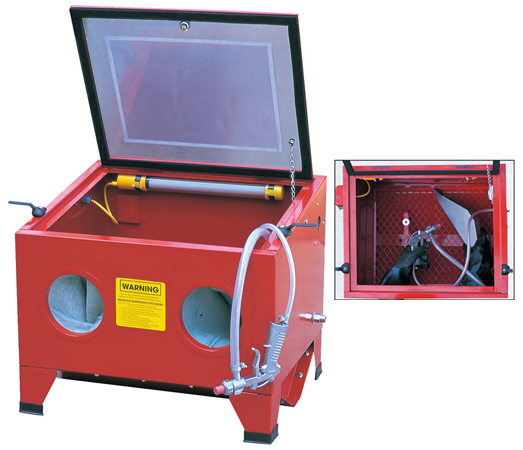 Bench top Sandblaster Cabinet Mini Sand Blaster SBC90 SBC100 SBC150 Featured Image