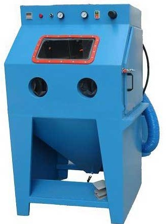 Dustless Abrasive Water Sandblasting Machine for Blasting Engin parts