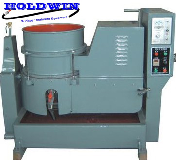 Vortex type surface finishing machine