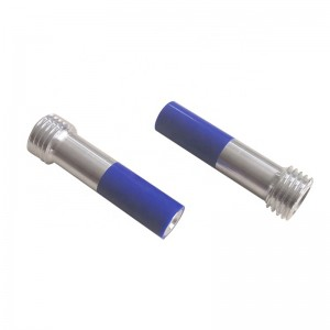B4C  Venturi Boron Carbide Nozzles Coarse Thread Aluminum jacket