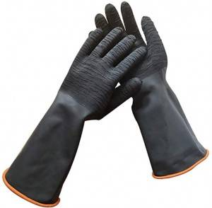 Non-slipNatural latex gloves