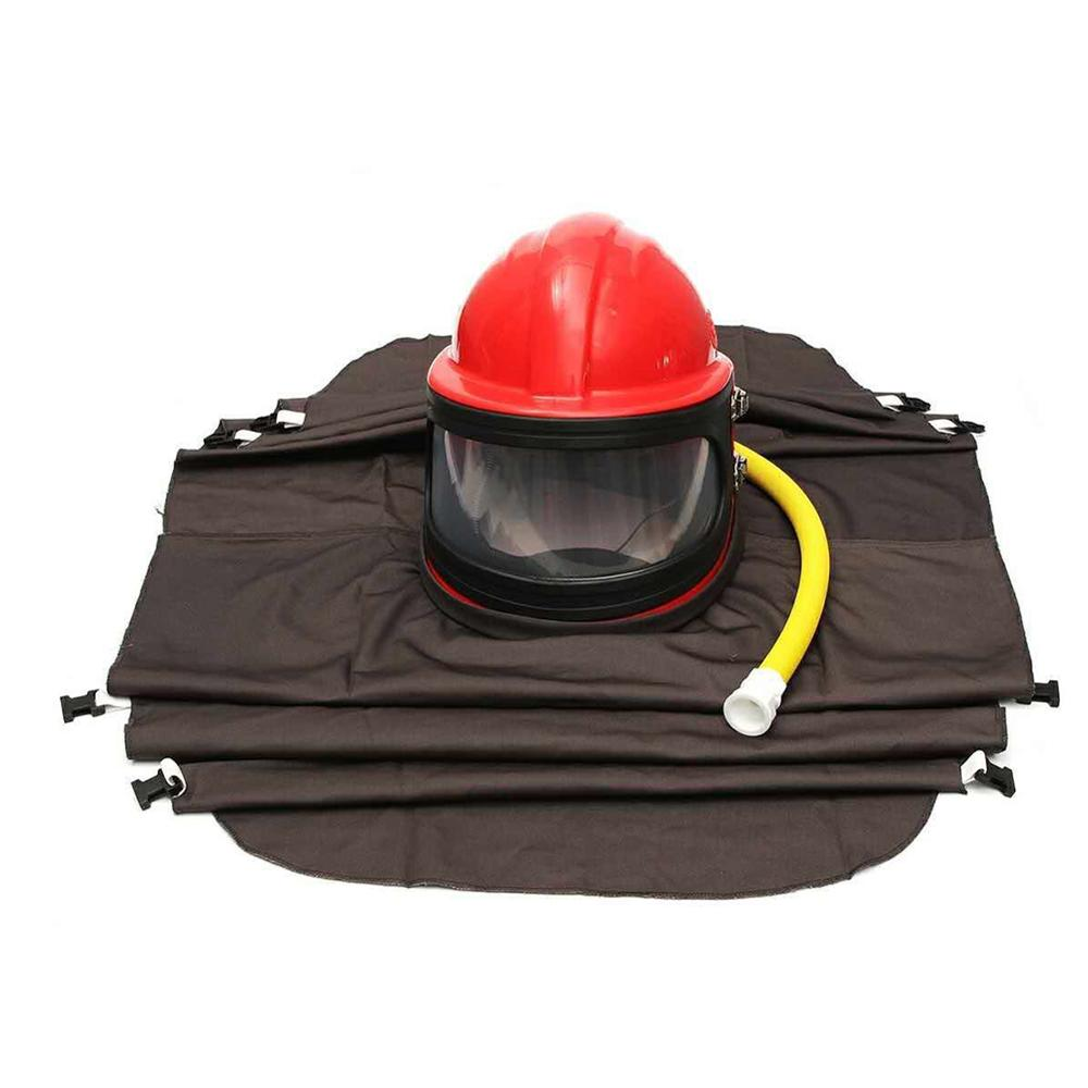 High quality sand blast helmet
