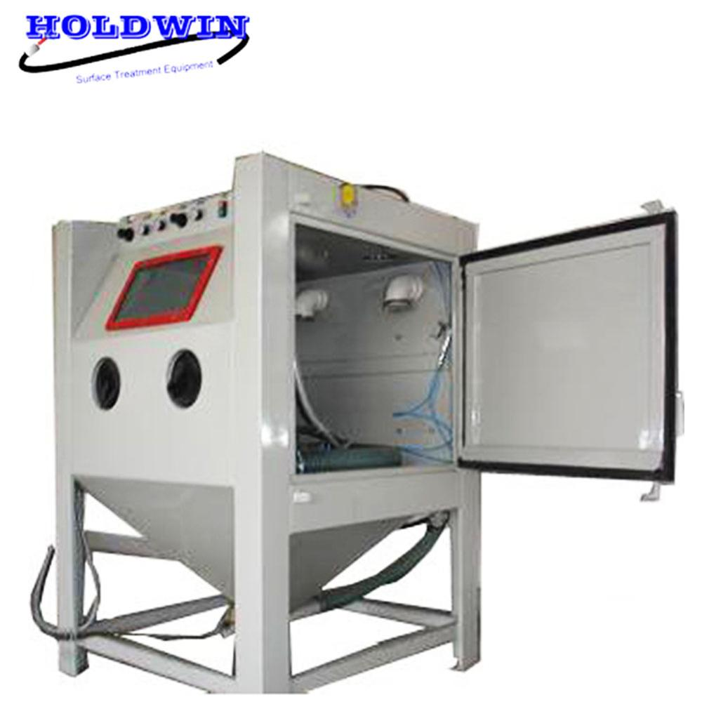 Holdwin High Quality Sandblasting Machine Remove dust suction dry sandblast cabinet