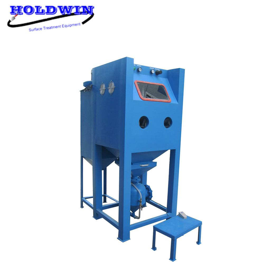 Holdwin High Pressure Sand Blaster Suction Sandblasting Cabinet Mold Sand Blast Machine