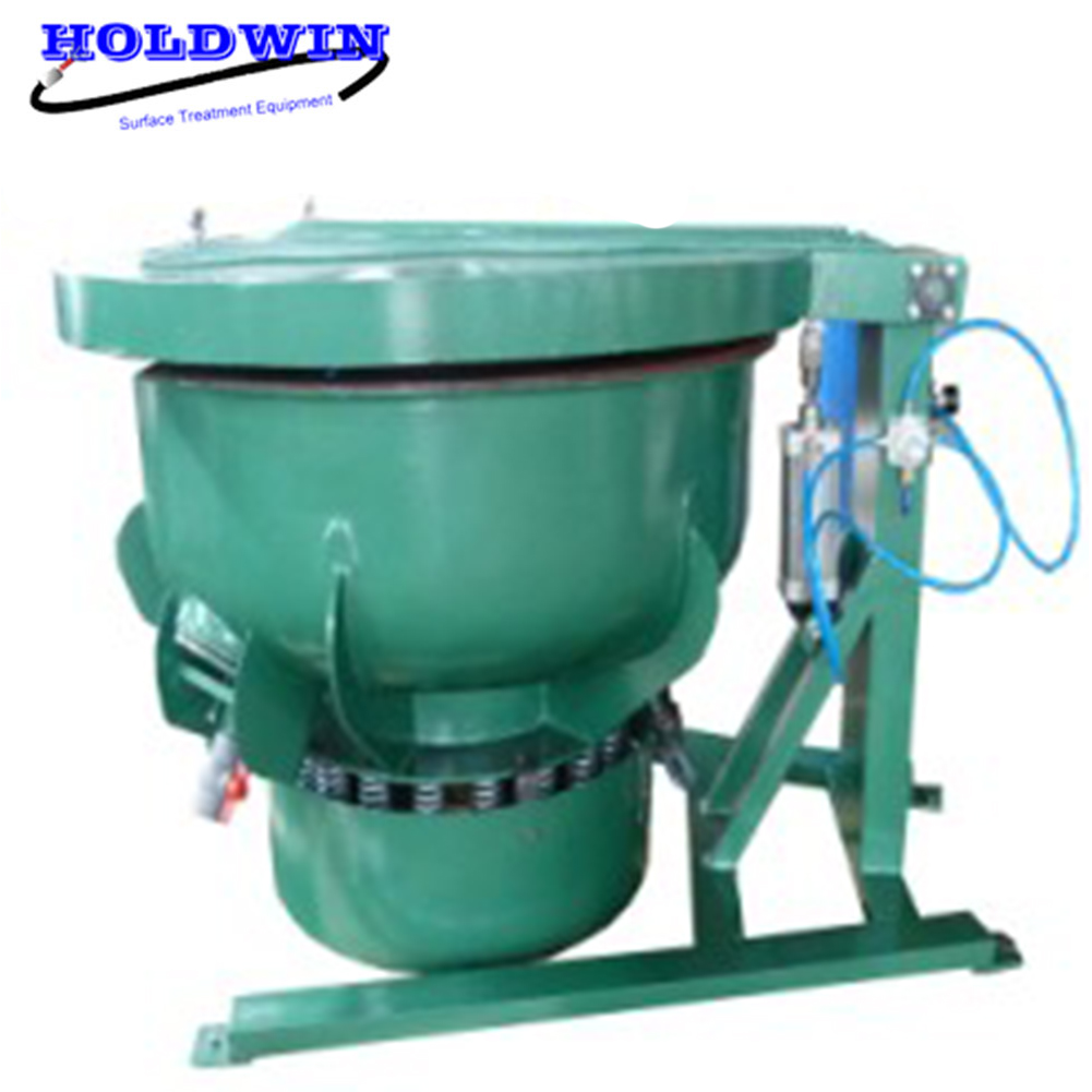 Holdwin Surface treatment vibratory finishing machinery with cover no noise