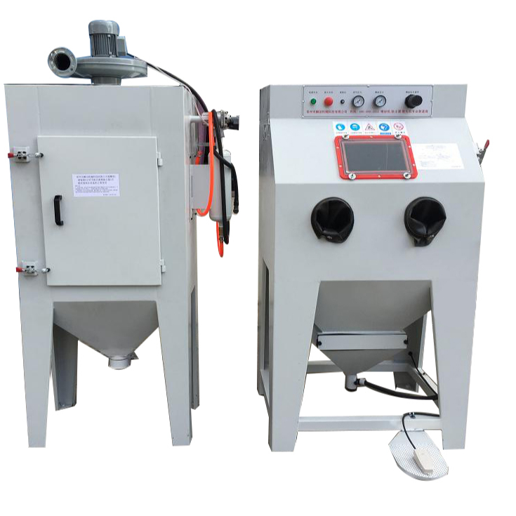 HOLDWIN Suction sandblasting cabinet  for blasting wheels blasting mould HST-9080A